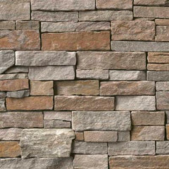"Realstone Systems Estate Greystone Gold Splitface Panel 8""x18"""