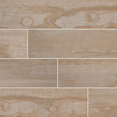 "Salvage Porcelain Tile Collection Honey - 6""x40"" Plank - FloorLife"