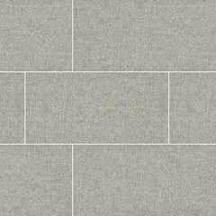 "Tektile Porcelain Tile Collection 12""x24"" - Hopsack Gray - FloorLife"