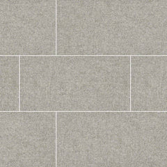 "Tektile Porcelain Tile Collection Hopsack Gray 12""x24"" - FloorLife"
