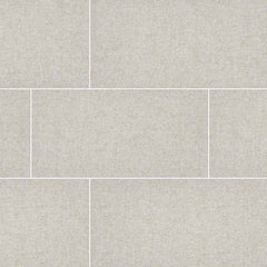 "Tektile Porcelain Tile Collection Hopsack Ivory 12""x24"" - FloorLife"