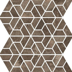 "Interceramic Basole Bruno Geometric Mosaic 12""x10"""