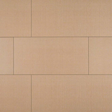 "Loft Porcelain Tile Collection Khaki - 3""x18"" Bullnose"