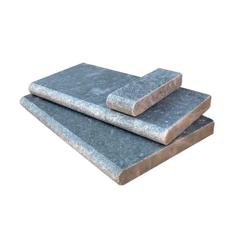Simply Stone - Pool Coping - Atlantic Blue - 12in x 24in