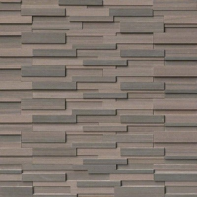 Simply Stone - Ledgestone Panel - Brown Wave 3D