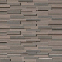 MSI Ledgestone Veneer - BROWN WAVE 3D PANEL - Honed - FloorLife