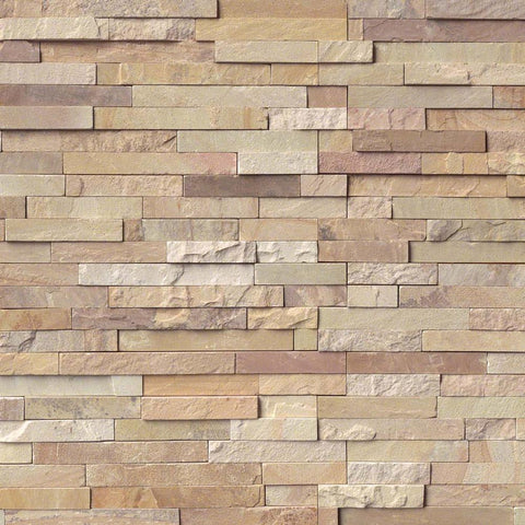 MSI International Ledgestone Veneer - FOSSIL RUSTIC PANEL - Splitface