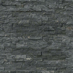 MSI Ledgestone Veneer - GLACIAL BLACK PANEL - Splitface - FloorLife