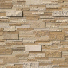 MSI Ledgestone Veneer - CASA BLEND 3D MULTI-FINISH PANEL - Splitface - FloorLife