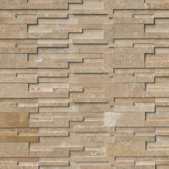 MSI Ledgestone Veneer - DURANGO CREAM 3D PANEL - Honed - FloorLife