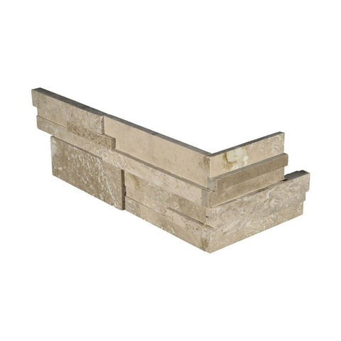 Simply Stone - Ledgestone Corner - Durango Cream 3D Honed