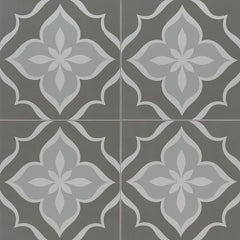 "Kenzzi Porcelain Tile Collection La Fleur- 8""x8"" - FloorLife"
