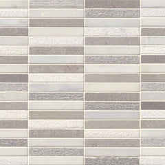 Marble Tile Collection Arabescato Carrara Linea Mixed Pattern 10mm - FloorLife
