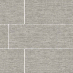 "Tektile Porcelain Tile Collection 12""x24"" - Lineart Gray - FloorLife"