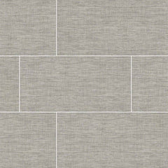 "Tektile Porcelain Tile Collection Lineart Gray 12""x24"" - FloorLife"