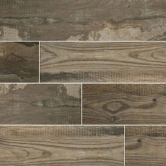 "Salvage Porcelain Tile Collection Musk - 6""x40"" Plank - FloorLife"