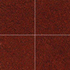 "Granite Tile Collection New Imperial Red - 12""x12"" - FloorLife"