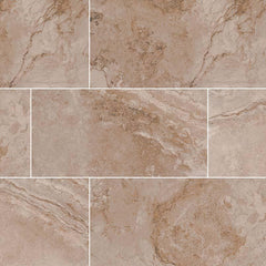 "Napa Ceramic Tile Collection Noce - 3""x13"" - Bull Nose - FloorLife"