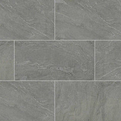 "Quartize Tile Collection Ostrich Gray - 12""x24"" - Honed - FloorLife"