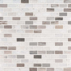 Marble Tile Collection Palisandro Mini Brick - FloorLife