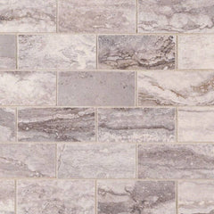 "Pietra Porcelain Tile Collection Bernini Carbone - 2""x4"" - FloorLife"