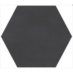 "Interceramic Construct Polar Night Hexagon 10 1/2""x12 1/2"""