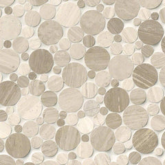 Marble Tile Collection Serentity Stone Pebble - FloorLife