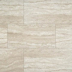 "Essentials Ceramic Tile Collection Sigaro Ivory - 3""x18"" - Bull Nose - FloorLife"