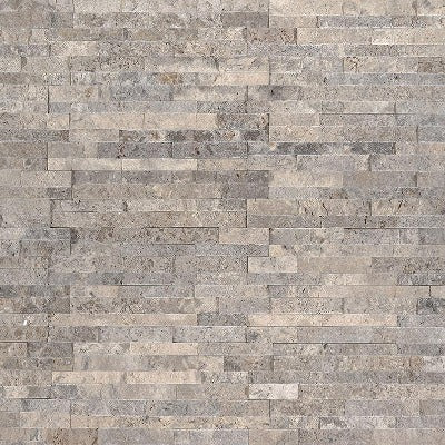 Msi Ledgestone Veneer Silver Travertine Mini Panel 4 5