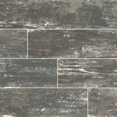 "Vintage Collection Silver Wood Look Porcelain Tile - 8""x36"" Plank - FloorLife"