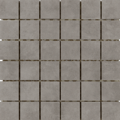 "Interceramic Concrete Silver Mosaic 12""x12"""