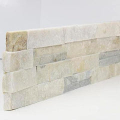 "Realstone Systems Shadowstone Silver Alabaster Natural End 6""x24"""