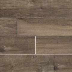 "Palmetto Porcelain Tile Collection Smoke - 6""x36"" - FloorLife"