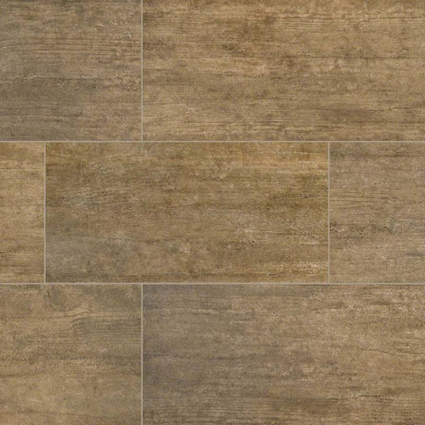 "Metropolis Porcelain Tile Collection Taupe - 3""x12"" Bullnose"