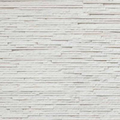 "Realstone Systems Thinstone Arctic White Angled Natural Panel 6""x24"""