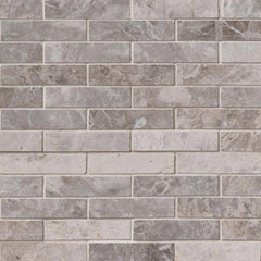 "Marble Tile Collection Tundra Gray 1""x4"" - FloorLife"
