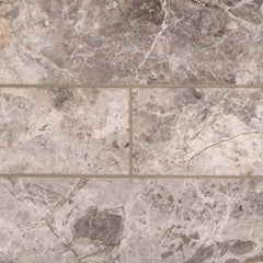 "Marble Tile Collection Tundra Gray 3""x6"" - FloorLife"