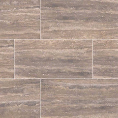 "Pietra Porcelain Collection Venata Noce - 3""x18"" Bullnose - FloorLife"
