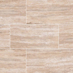 "Pietra Porcelain Collection Venata Sand - 3""x18"" Bullnose - FloorLife"