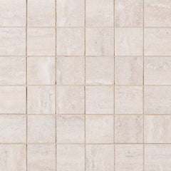 "Veneto Porcelain Tile Collection White - 2""x2"" Mosaic - FloorLife"