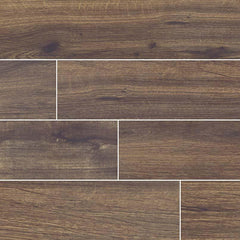 "Palmetto Porcelain Tile Collection Walnut - 6""x36"" - FloorLife"
