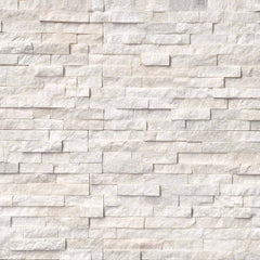 MSI Ledgestone Veneer - ARCTIC WHITE PANEL - Splitface - FloorLife