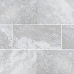Arterra Porcelain Paver Argento Travertino - 16x32""