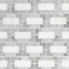 Marble Tile Collection Bianco Dolomite Lynx