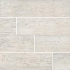 "MSI Caldera Porcelain Tile Collection Blanca - 8""x47"""