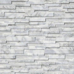 MSI Ledgestone Veneer - CALACATTA CRESSA 3D PANEL - Honed - FloorLife