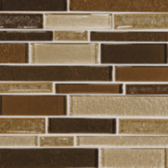 Daltile Crystal Shores Copper Coast Random Linear Mosaic