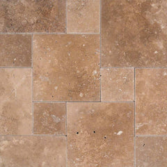 "Travertine Pavers Cordoba Noche 6""x6"" - FloorLife"