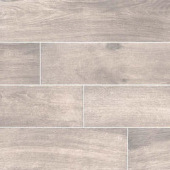 Cottage Collection Smoke Porcelain Tile - 8x48""