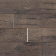 Cottage Collection Wenge Porcelain Tile - 8x48""